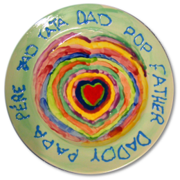 paint your own Father's Day gifts 
