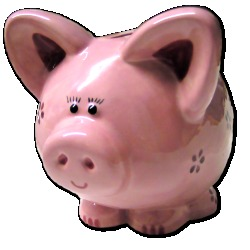 Piggy-bank picture